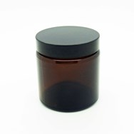 Amber Glass Ointment Jar 120ml