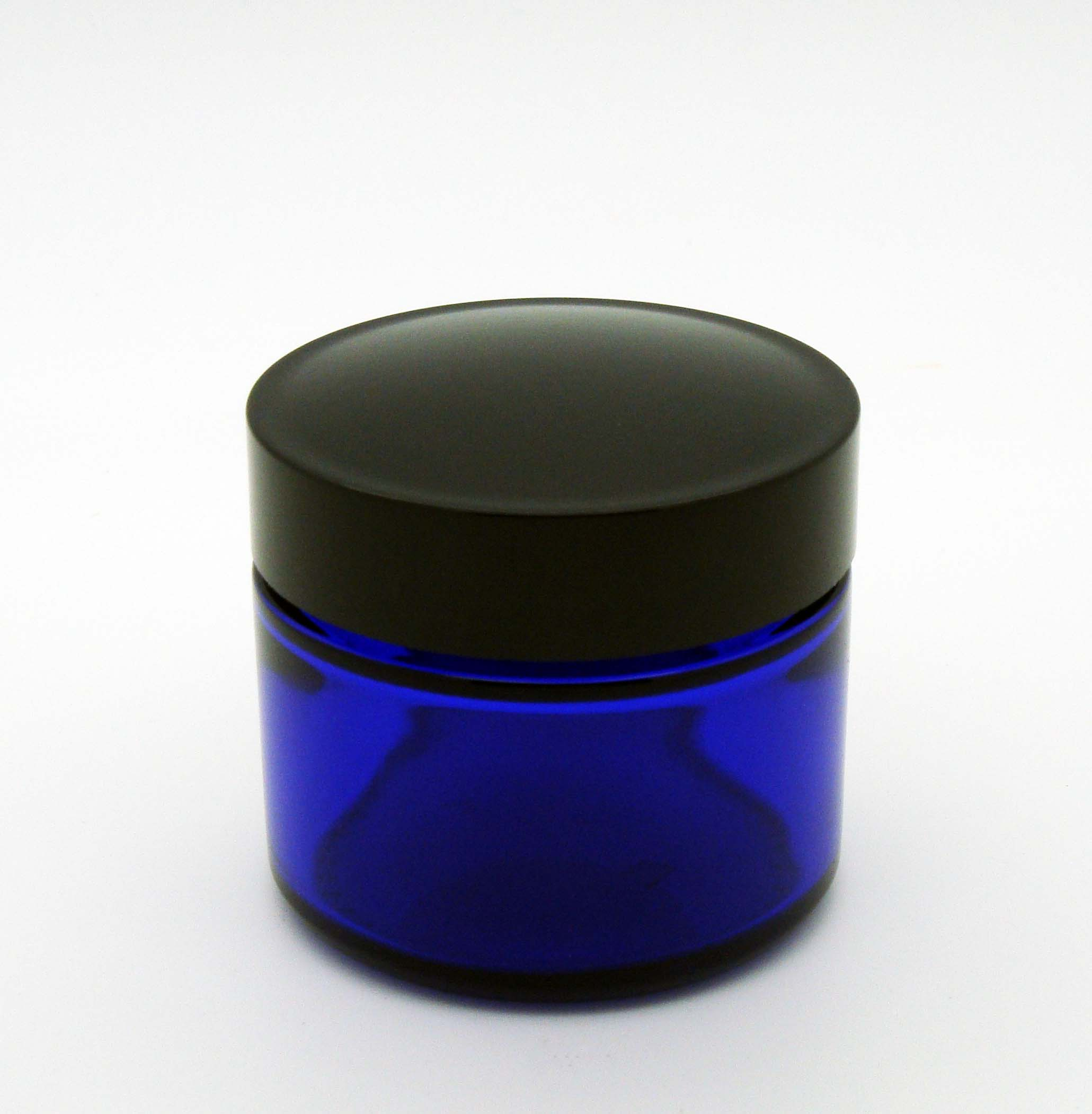 Blue Cobalt Glass Jar 50 grams