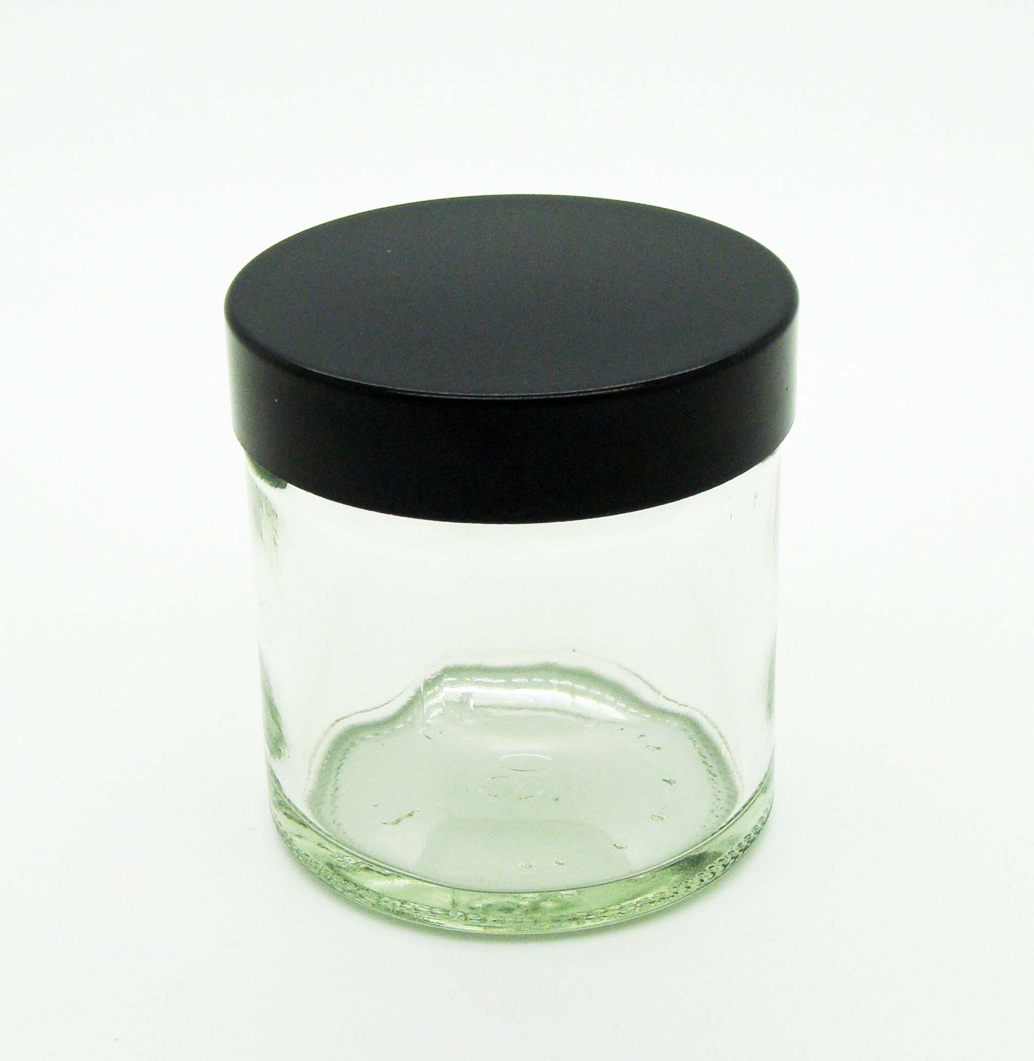 Clear Glass Ointment Jar 30ml