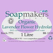 Lavender Flower Hydrolat Certified Organic