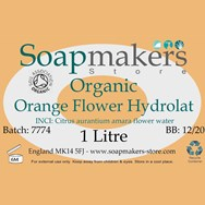 Orange Flower Hydrolat Certified Organic