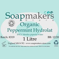 Peppermint Hydrolat Certified Organic