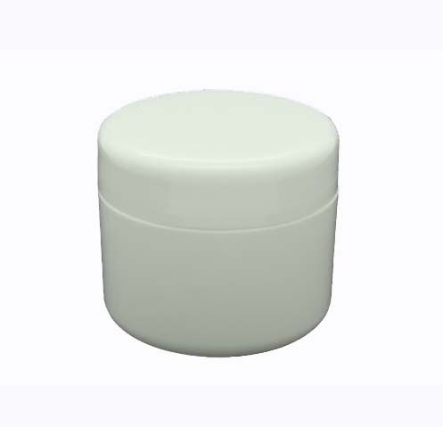 White Plastic Jar 50 Grams